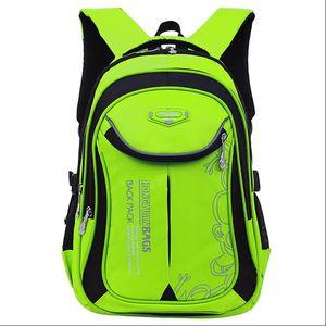 Kids School Bag Waterproof Primary School Backpack Children Girls Unisex Classic Laptop Durable Schoolbag Orthopedic Backpack