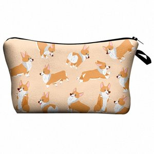 Large Capacity Makeup Bags Fashion 3D Cartoon Printing Multi-Use Cosmetic Bag Toiletry Pouch For Outdoor Travel Qa3x#