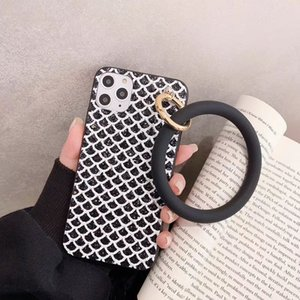 szbobo Fashion Gem Bling Pendant big ring bracelet Phone Case For iPhone 11Pro Max X XS XR 6s 7 8 Plus soft Cover for Samsung S8
