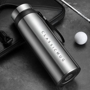 1500m 1100ml 650ml Portable Double Stainless Steel Vacuum Flask Coffee Tea Thermos Mug Sport Travel Mug Large Capacity Thermocup Cl200920