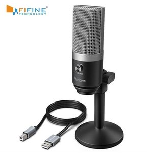 Fifine Usb Microphone For Mac Laptop And Computers For Recording Streaming Twitch Voice Overs Podcasting For Youtube Skype K670 T191021