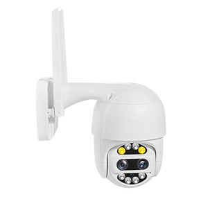 Wifi PTZ Camera Cloud 1080P Outdoor Auto Tracking CCTV Home Security IP Camera 4X Digital Zoom Speed Dome Siren Light