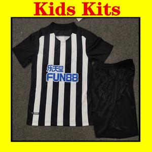 FREE PATCH 2021 Newcastle soccer Jersey 2021 SHELVEY RITCHIE LASCELLES YEDLIN ATSU JOELINTON football shirt United Kids uniform