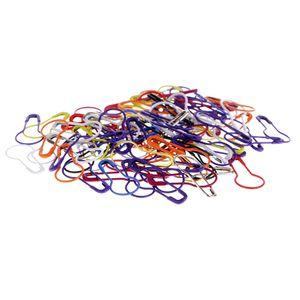 100pcs Calabash contactos de seguridad del bulbo calabaza pequeña Coilless Ropa Crafts Tag