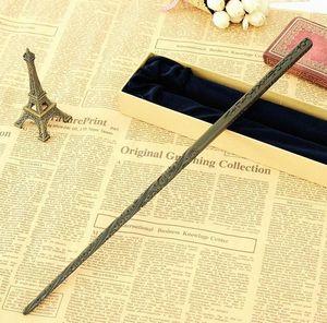 httoy New Metal Core Sirius Black Magic Wand  HP Magical Wand  High Quality Gift Box Packing
