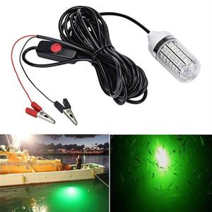 12V 낚시 라이트 108pcs 2835 LED 수중 낚시 빛 IP68 미끼 어군 탐지기 램프 새우 오징어 크릴 유치 (4 색)