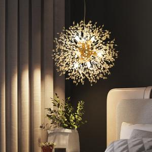 Nordic G4 industrial Chrome Pendant lâmpada sputnik suspensão lâmpada luminária Hanging Fof LOFT decoração luminárias brilho