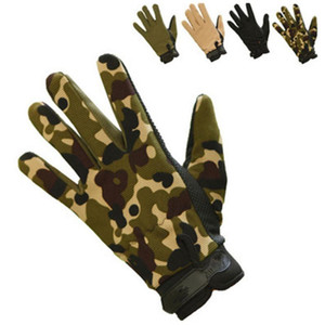 Winter Warm Gloves Men's Snowboard Skiing Cycling Gloves Bike Motorcycle Riding Winter Snow Airsoft Army Camouflage Glove