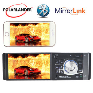 MP3 MP4 Player Mirror Link Only For Android Stereo 1 Din FM USB TF EQ HD 8 languages 4.1'' Radio Stereo Bluetooth car