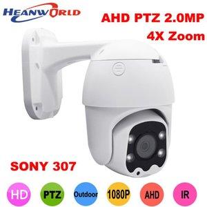 Камеры 4x ZOOM AHD Камера 2.0MP 2.8-12mm PTZ 1080P Охранное наблюдение Аналог CCTV Открытый IP66 Ленз Sony 307