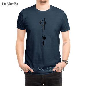 T-shirts personnalisés standard Retour Tatouage T-shirt de Lexa Pour Hommes élégant Homme Hommes T-shirt de base à manches courtes mignon