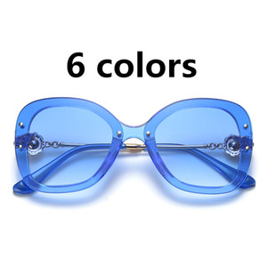 Hot Sale Brand Ladies Sunglasses Fashion Woman Cycling Glasses Classic Outdoor Sport Sunglasses Eyewear Girl Beach Sun Glass 6 Color