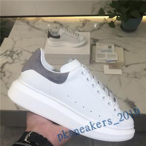 2020 الأسود عارضة الأحذية الدانتيل يصل الراحة جميلة فتاة النساء أحذية رياضية عارضة الأحذية الجلدية الرجال النساء أحذية رياضية دائمة للغاية
