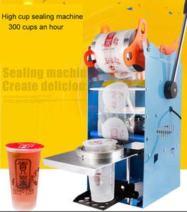 WY802F Manuel Kupası Sızdırmazlık Makinesi Plastik / Kağıt Kabarcık Çay Bardağı Mühürleyen Ticari Kupası Sızdırmazlık Makinesi Mühür 9 / 9.5 cm PP / Kağıt Mater