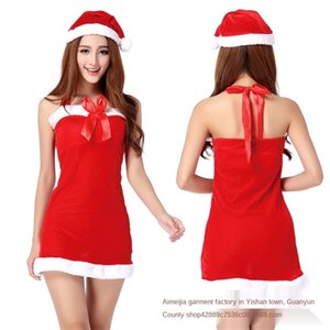 New Bow Tube Christmas uniform temptation stage costume cosplay