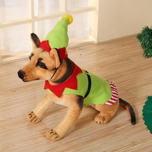 2020 Домашних животные рождественских украшений творческая мило одежды собаки Домашних животных Hat Christmas Dog Apparel 2 стиля принадлежности для собак T2I51466