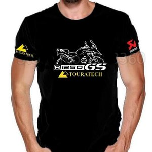 New Pure Cotton Short Sleeves Hip Hop Fashion 2020 R1200gs Motorcycle Motorrad R1250gs R 1250 Gs R 1250gs T-shirt Cotton P