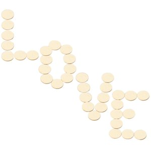 50pcs Natural Blank Round Wood Pieces Unfinished Wooden Discs for decoration,