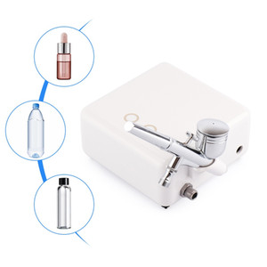 Dual Action Airbrush With Compressor Kit Air Brush Paint Spray Gun Skin Rejuvenation Water Oxygen Facial Machine For Art TattooR