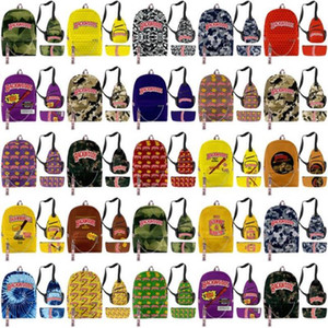 Bourbon Full School Backwoods Bag Honey Print Pcs Shoulder Bag Clothing Laptop Backpack Graphic 3d Bourbon Travel Printed Honey 3 Bag sqcKH