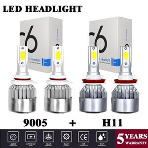 Yubao 4x 9005 + H11 Per GMC Sierra HD 3500 Sierra 2500 HD 07-14 1.500 09- 13 Yukon XL 15-17 15-18 Canyon LED Headlight Bulbs