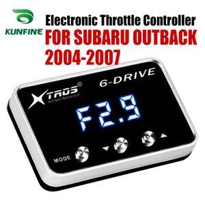 Subaru Outback 2004 2007 Tuning Parça Aksesuar için Araç Elektronik kısma Kontrolörü Yarışı Hızlandırıcı Güçlü Booster