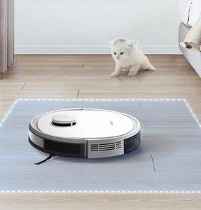 기계 지원 알렉사 구글 앱 음성 제어를 연소 청소 홈 클리닝 Ecovacs Deebot N3 최대 레이저 로봇 진공 청소기