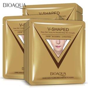 스타일 귀 루프 Bioaqua 얼굴 V 모양의 3 차원 V 라인 리프팅 퍼밍 얼굴은 턱 뺨이 붓기를 감소 조이 마스크