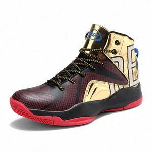 High-top Basketball Shoes Men Women Cushioning Breathable Basketball Sneakers Anti-skid Outdoor Man Sport Shoes HPOW#