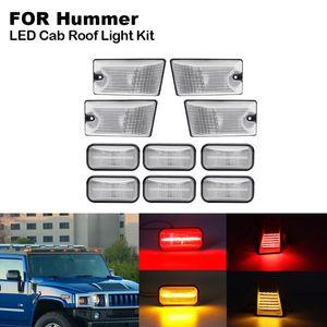 10PCS LED الكابينة سقف ضوء عدة للحصول على همر H2 SUT H2 همر 2003-2009 2005-2009