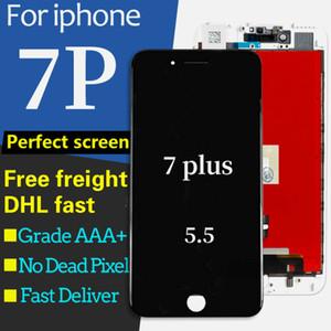 La alta calidad para Iphone 7 Plus Pantalla Lcd Pantalla táctil Reemplazo del conjunto del digitalizador para Iphone 7plus 3D LCD táctil