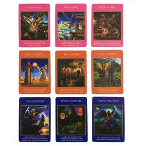 Tarot İçin Kader Kartları Parti Kehanet pWzPv Playing Game Card Rehberlik Güverte Entertainme Güç Tarot İngilizce Başmelek Kartları 78pc Kurulu