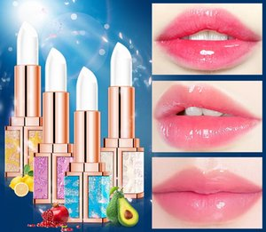 2020 Starry sky fruit lip balm light lip wrinkle repair anti-drying moisturizing non-stick cup color lipstick