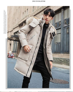 Mens Down New Mens Designer Parka Fashion Thick Warm Hooded Parkas Casual Long Sleeve Hat Detachable