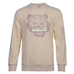 NUEVA marca del tigre cabeza suéteres de moda mujeres de los hombres del suéter de alta calidad Suéter de manga larga bordado Impreso Pareja tamaño M-XXL