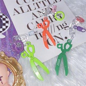 Encanto Dangles Meninas Harajuku Acessórios gótico do doce Scissors charme Adulto Adolescentes Streetwear Original Diy Handbag Decoração