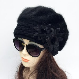 2020 new brand winter Christmas warm hats & caps for women beret hair casual caps fashion All-match Stewardess hats