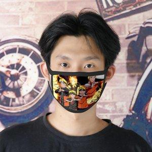 pour Girl Masque Cartoon Designer Cubrebocas Naruto visage réutilisables Tapabocas Get 22 Tmcfw Bwkf