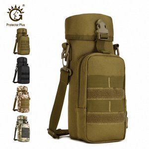 Protector Plus Tactical 800ML Kettle Bag, Travel Camping Shoulder Bag,Molle Hiking Crossbody Bag,Outdoor Cycling Bag rQ6S#