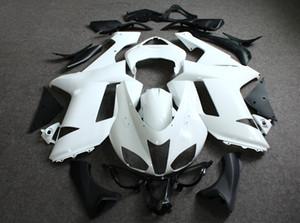 2020 sem pintura conjunto completo com acesso ABS tela Batentes e frete grátis Carroçaria Fairing ABS completa Plastics Fit para KAWASAKI 636 6R 2007