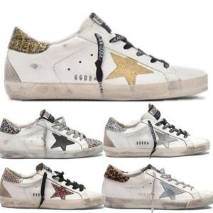 Golden Goose GGDB a41 Itália Multicolor Ouro Superstar Gooses Sneakers Homens Mulheres clássica Branca Do-velho sujo Shoes Casual Shoes Tamanho 35-45 HNGFD