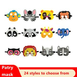 maquillage masque Halloween senti enfants masque oeil dessin animé masque de mode animal articles de fête Halloween w-00208