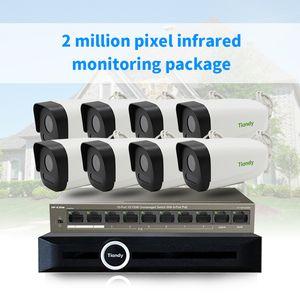 FSD 2MP 8CH CCTV Camera Security System Kit esterna del CCTV Video Surveillance System Set H.265 Acqua Resisitance