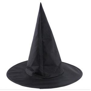 برج الكنيسة ماجيك قبعة ترويج بارد الكبار النساء هالوين الأسود قبعة الساحرة أكسفورد حزب حلي الدعائم هاري بوتر كاب بالجملة 4P