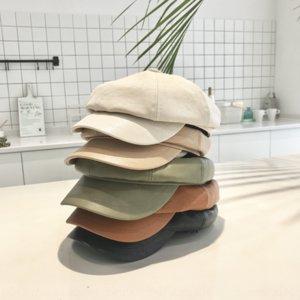 octagonal rprQX outono de couro infantil atingiu o pico estilo coreano Spire cap cap capparent-chapéu criança baby baby pintor boina Rua
