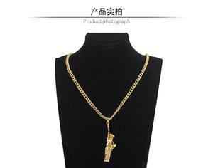 Hip Hop ювелирные изделия Шарм США Символ американской статуи Свободы Подвеска Сеть Ожерелье