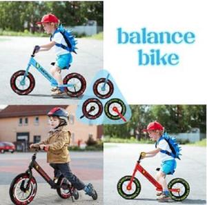 2020 Nouveau bébé Équilibre enfant en bas âge Vélo Walker Enfants Ride On Toy cadeau pour 1-3years Vieux enfants pour Promenade Scooter apprentissage