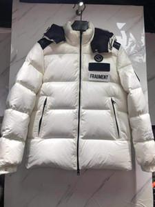 5a Top Версия высокого качества Мужская одежда Конструкторы Winter Maya Black Luxury Светоотражающие вниз пальто куртки моды Zip Up Parka твидовые куртки