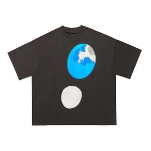 2020 Ins Hot Spring Summer American Jesus is King x CPFM Puff Print Tee Skateboard Mens designer t shirt Women Street Casual Tshirt