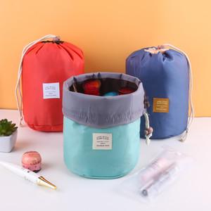 Frauen Cosmetic Bag Wash Gargle Speicher-Beutel Drawstring Licht Multi-Funktions-Handtaschen Weiche einfacher Portable Durable 4 65hn F2